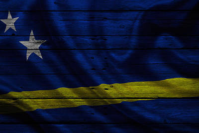 Flags Photograph - Curacao by Joe Hamilton