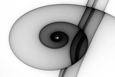 Eggleston Digital Art - Curl No. 1 by Mark Eggleston