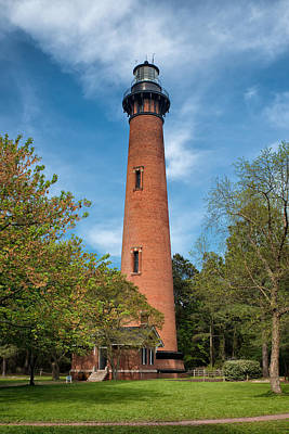 Currituck Beach Lighthouse Print by Victor Culpepper