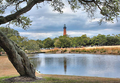 Currituck Heritage Park Print by Steven Ainsworth
