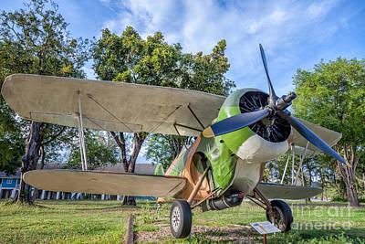 Curtiss Hawk IIi  Print by Adrian Evans