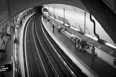 Train Photograph - Curve by Sebastian Musial