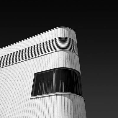 Flevoland Photograph - Curved Window by Dave Bowman