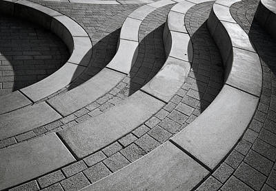 Perspective Photograph - Curves by Henk Van Maastricht
