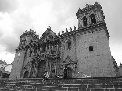 City Photograph - Cusco Cathedral by Fernanda Travensolli