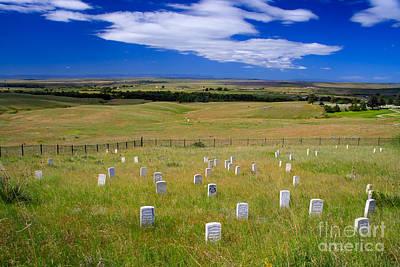 Custer's Last Stand Print by Bob Mintie