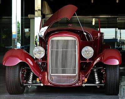Wine Cart Photograph - Custom 1927 Model T Dream Machine by Lorenzo Williams