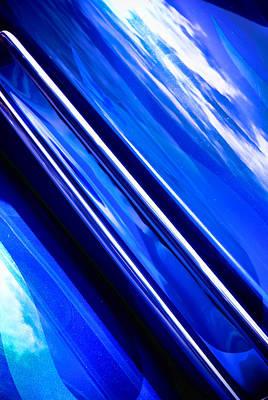 Phil Motography Clark Photograph - Custom Blue Paint by Phil 'motography' Clark