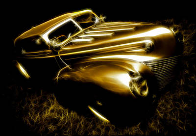 Phil Motography Clark Photograph - Custom Ford Roadster by Phil 'motography' Clark