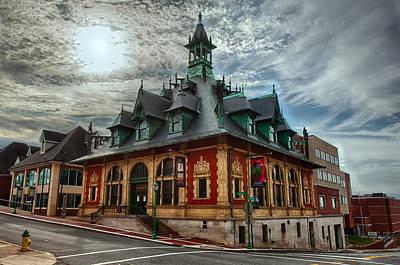 Clarksville Photograph - Customs House Museum by Dan McManus