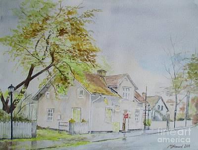 Cut Across The Street Original by Martin Howard