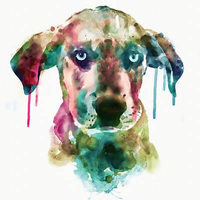 Cute Dog Mixed Media - Cute Doggy by Marian Voicu
