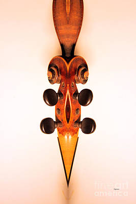 Violin Digital Art - Cuts Like A Knife  by Steven  Digman