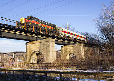 Cuyahoga Valley Scenic Rr  Print by Tim Fitzwater