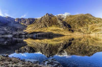 Snowdon Photograph - Cwm Idwal by Ian Mitchell