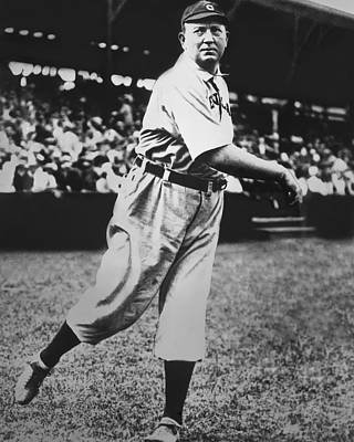 Cy Young Warming Up Print by Retro Images Archive