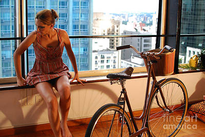 Cycle Introspection Print by Carlos Alkmin