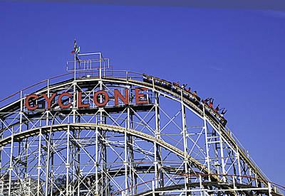 Cyclone 2013 - Coney Island - Bklyn - Ny Original by Madeline Ellis