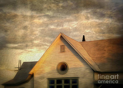 Cyclops House Print by Gregory Dyer