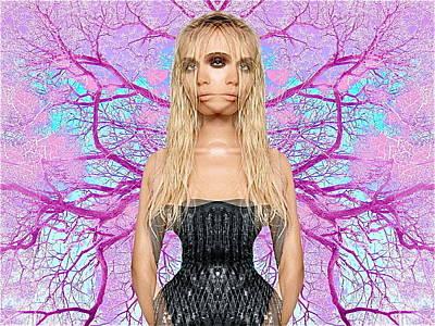 Cyclops Digital Art - Cyclopsymmetry by Brooke Friendly