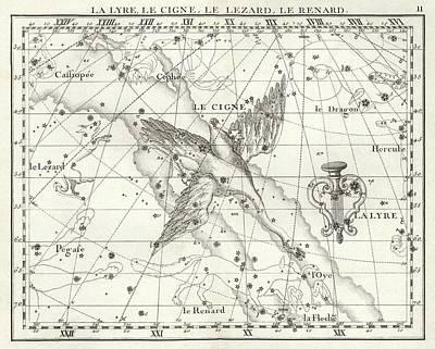 Cygnus Constellation Print by Us Navy