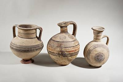 Ceramics Photograph - Cypriot Terracotta Amphora by Science Photo Library