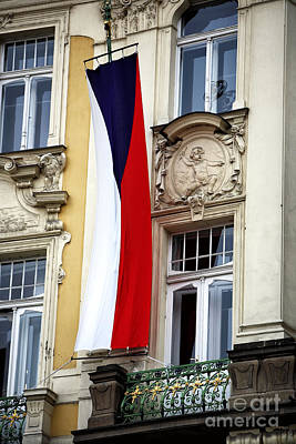Czech Pride Print by John Rizzuto