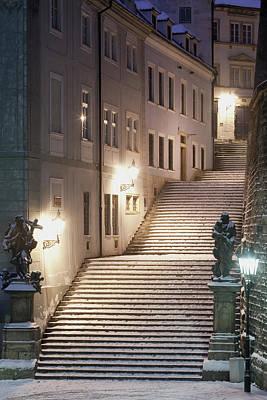Praha Photograph - Czech Republic, Prague - Lesser Quarter by Panoramic Images