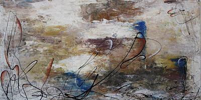 Artist Process Painting - D-11 by Bradley Carter
