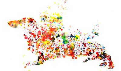 Dachshund Puppy Digital Art - Dachshund by Brian Reaves