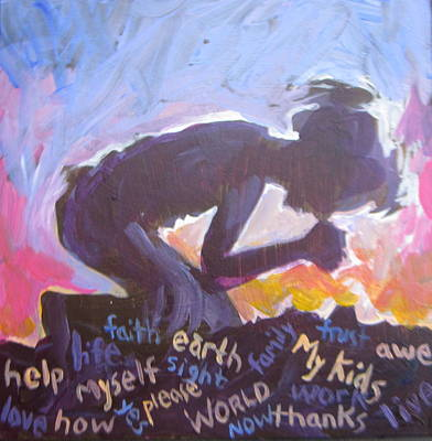 Painting - Daily Prayer by Tilly Strauss