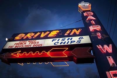 Signage Photograph - Dairi Wip by Bryan Scott