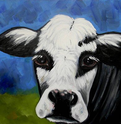 Dairy Cow Original by Marla Lobus