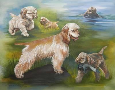 Cocker Spaniel Painting - Daisy by Dixie Andrew
