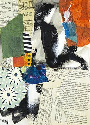 Daisy Print by Elena Nosyreva