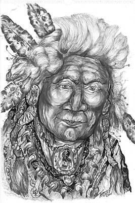 Hopi Drawing - Dakota by Robert Tiritilli
