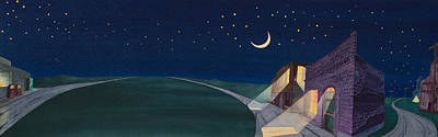 Dakota Moon II Print by Scott Kirby