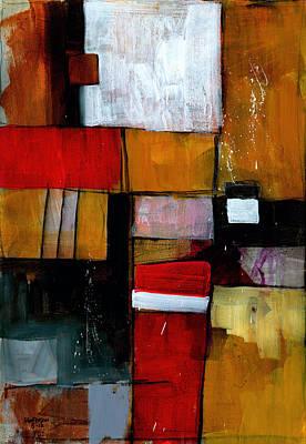 Expressionist Painting - Dakota Street 9 by Douglas Simonson