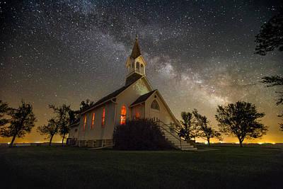 Claire Photograph - Dakota Territory Milky Way by Aaron J Groen