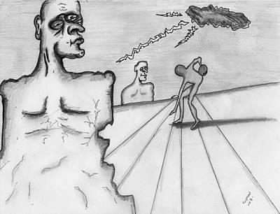 Surreal Drawing - Dalcasso by Dan Twyman