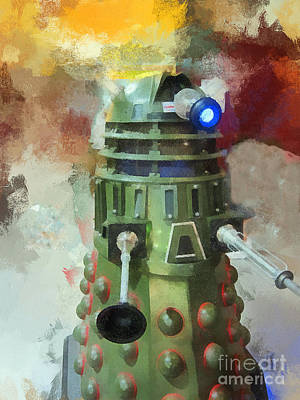 Dalek Invasion Of Earth Original by David Carton