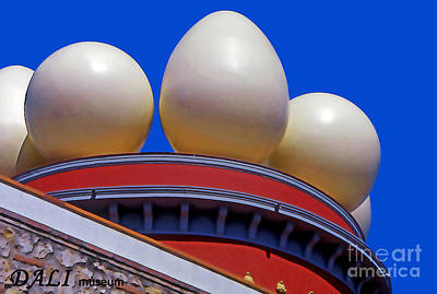Barcelona Digital Art - Dali Museum - Figueres - Spain by Linda  Parker