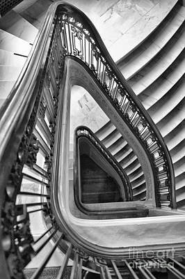 Dali Stairs Print by Kate McKenna