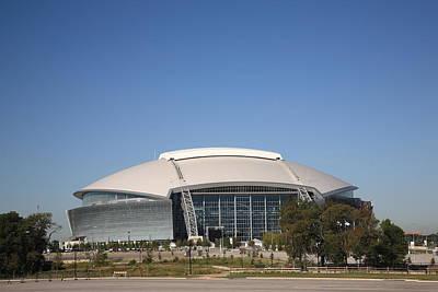 Mural Photograph - Dallas Cowboys Stadium by Frank Romeo