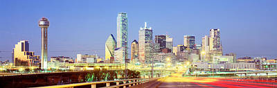 Dallas Texas Usa Print by Panoramic Images