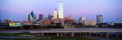 Dallas Tx Print by Panoramic Images