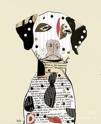 Dalmatian Dog Print by Bri B