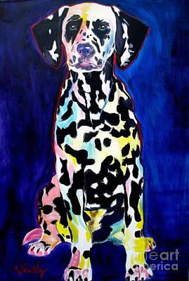Dalmatian - Polka Dots Print by Alicia VanNoy Call
