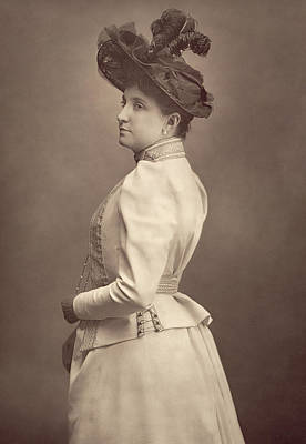 Singer Photograph - Dame Nellie Melba by Stanislaus Walery