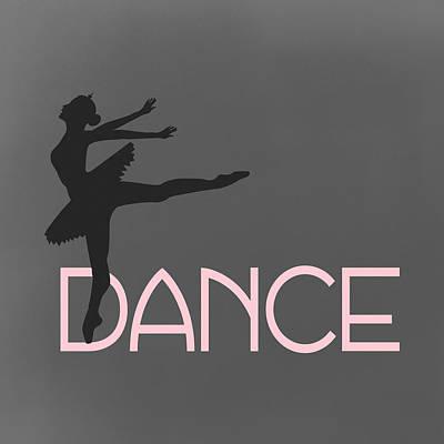 Shoe Digital Art - Dance Ballerina by Flo Karp